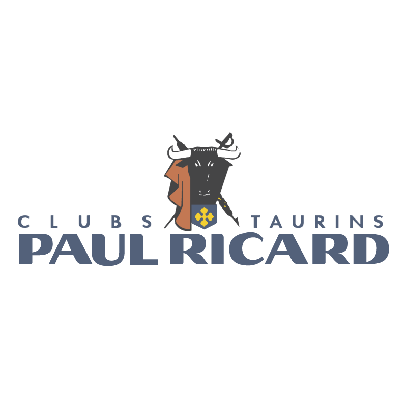Paul Ricard Clubs Taurins vector