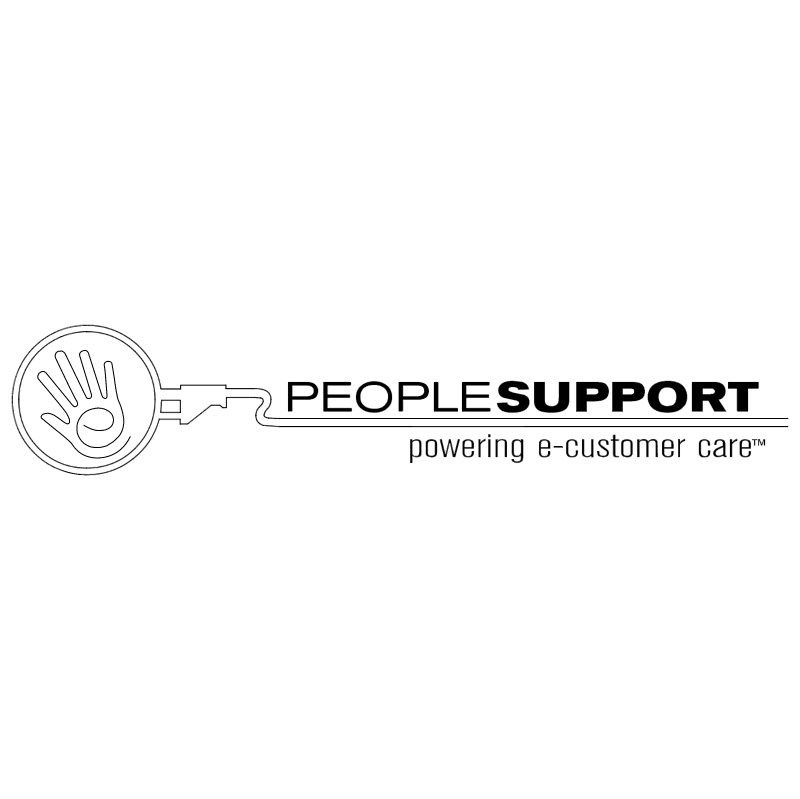 PeopleSupport vector logo