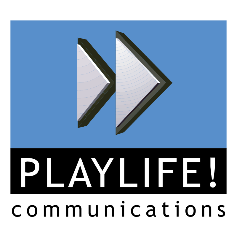 Playlife Communications vector