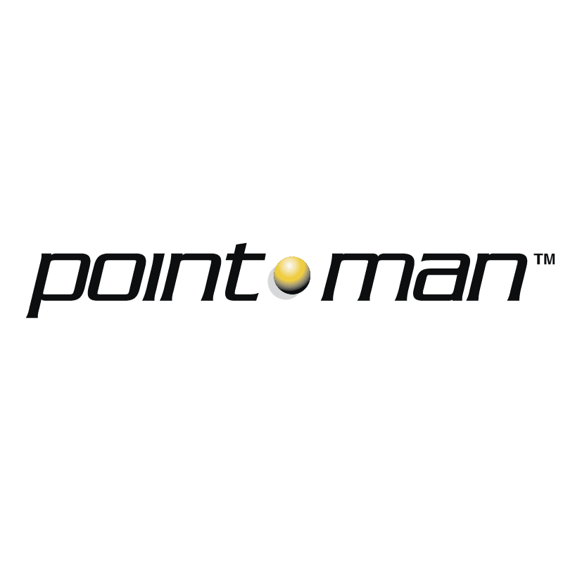 Point Man vector logo