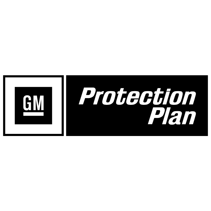 Protection Plan GM vector logo