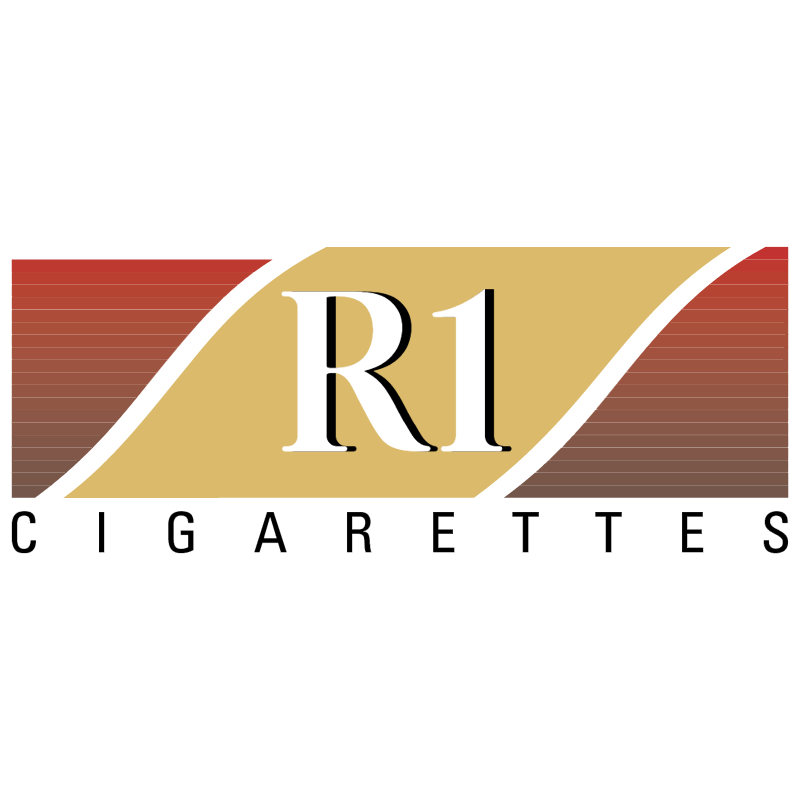 R1 Cigarettes vector