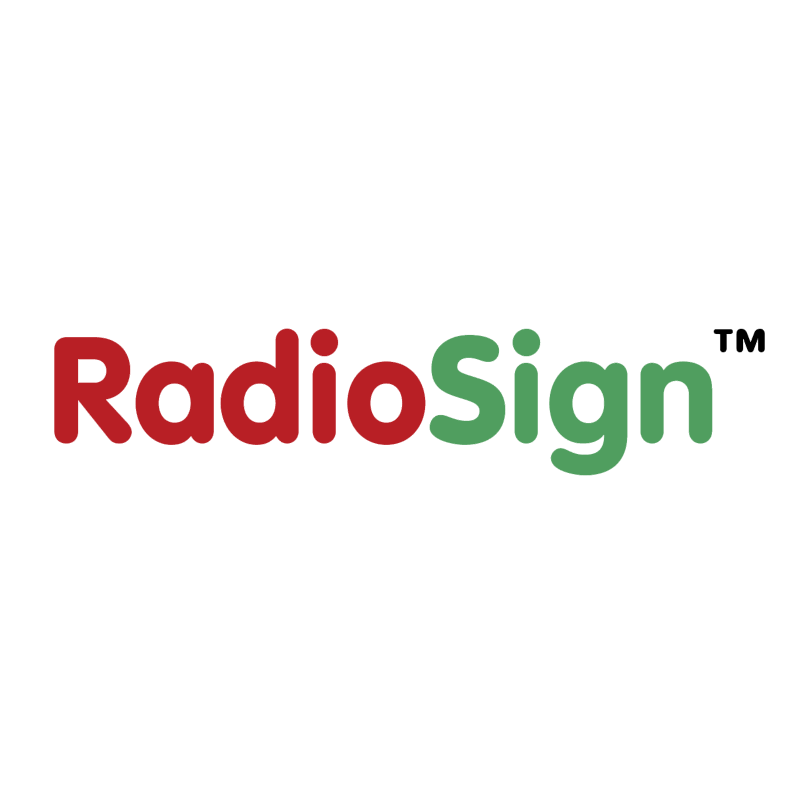 RadioSign vector