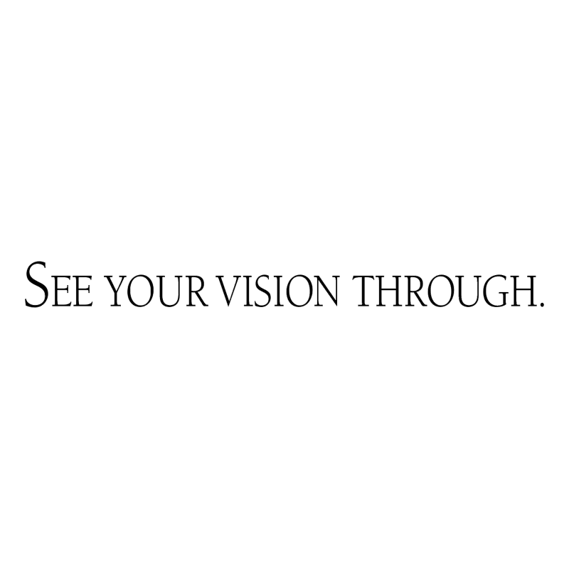 See Your Vision Through vector