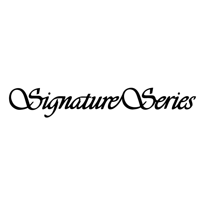 Signature Series vector