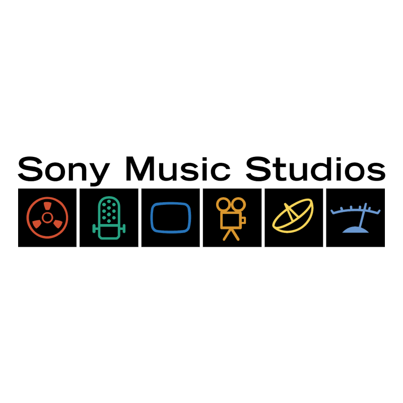 Sony Music Studios vector