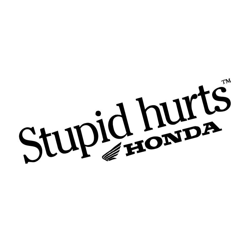 Stupid hurts vector