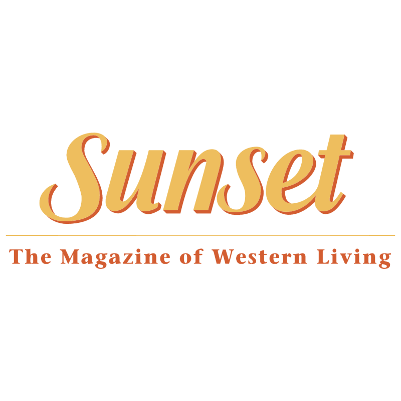 Sunset Magazine vector
