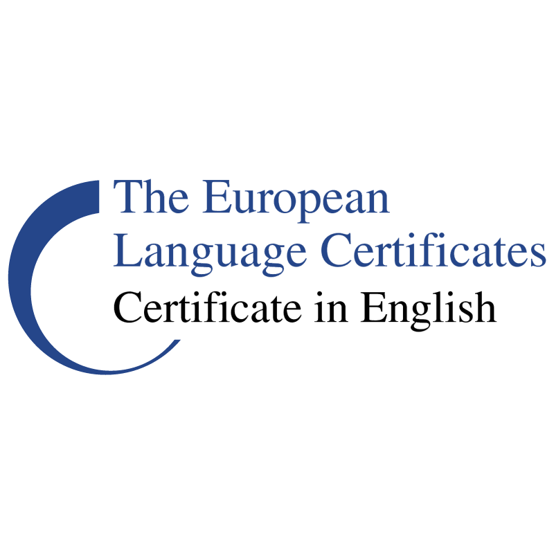 The European Language Certificates vector logo