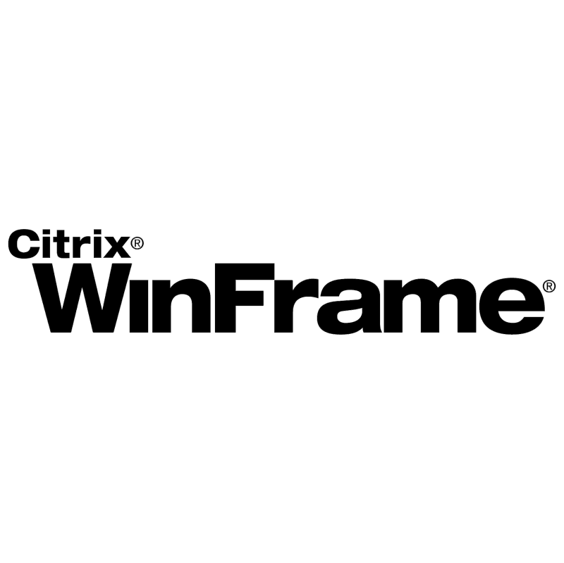 WinFrame Citrix vector