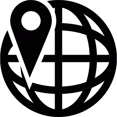 Location in the network logo