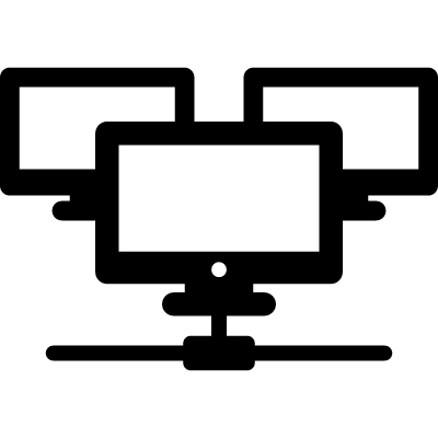 Multiple Computers Connected logo