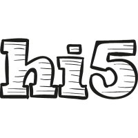 Hi5 drawn logo