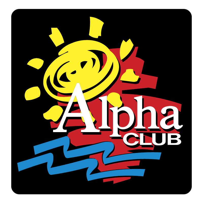 Alpha Club vector logo
