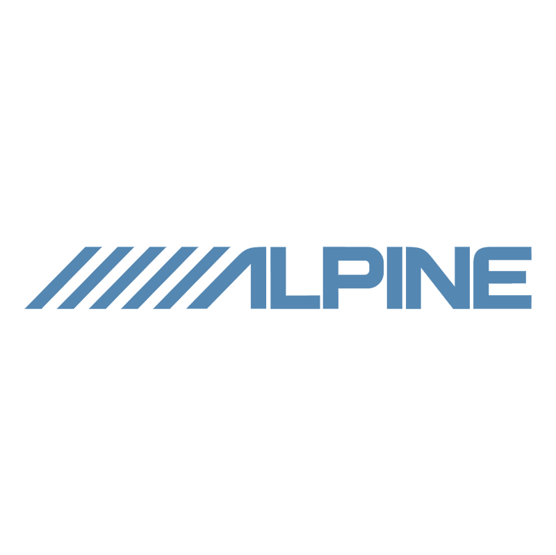 Alpine 81004 vector logo