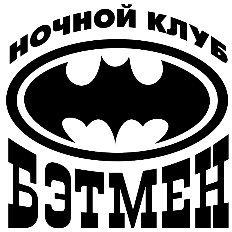 Batman Club vector logo