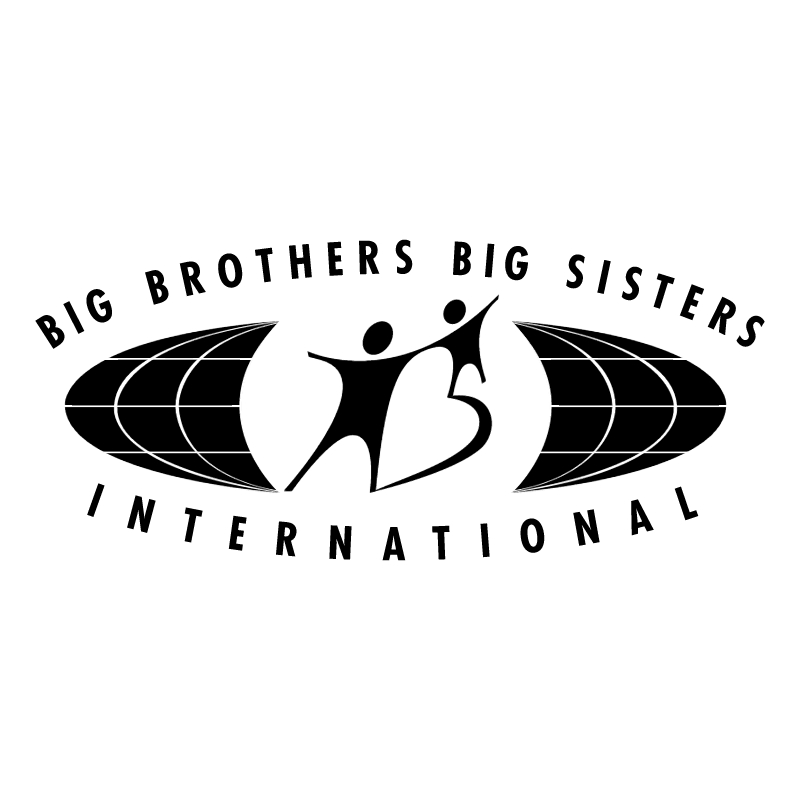 Big Brothers Big Sisters International vector