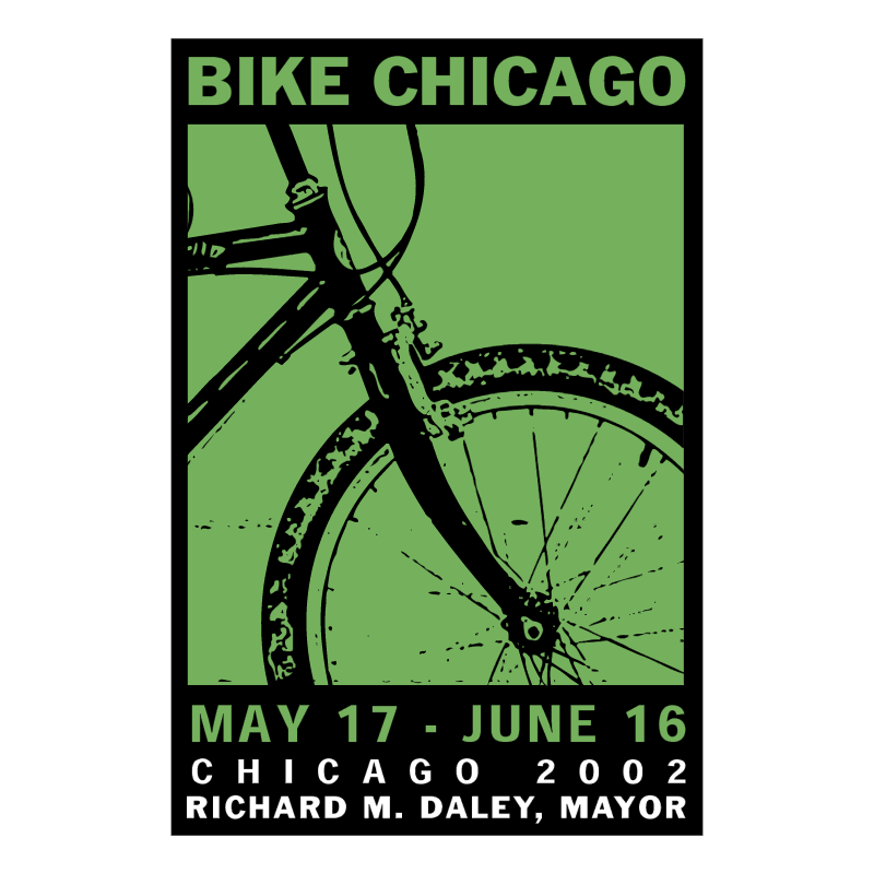 Bike Chicago 81543 vector