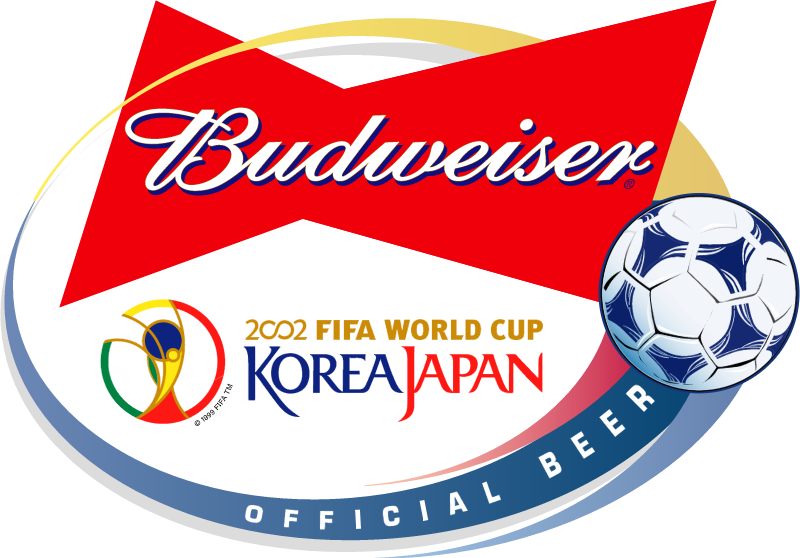 Budweiser 2002 World Cup Sponsor vector