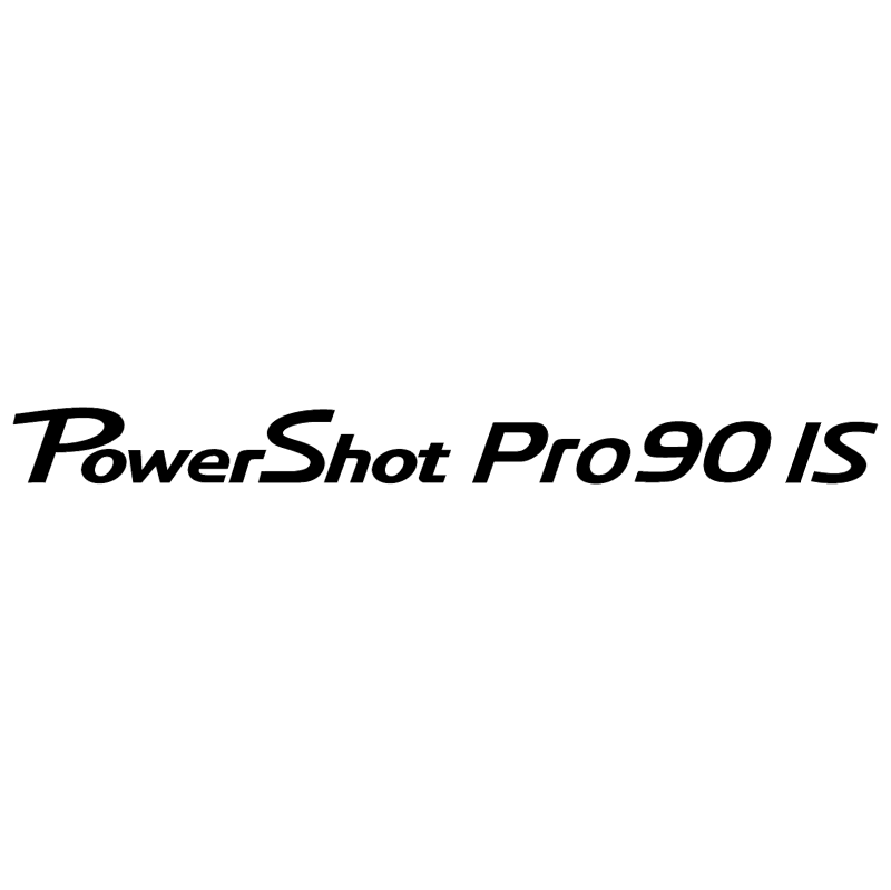 Canon Powershot Pro90 IS vector