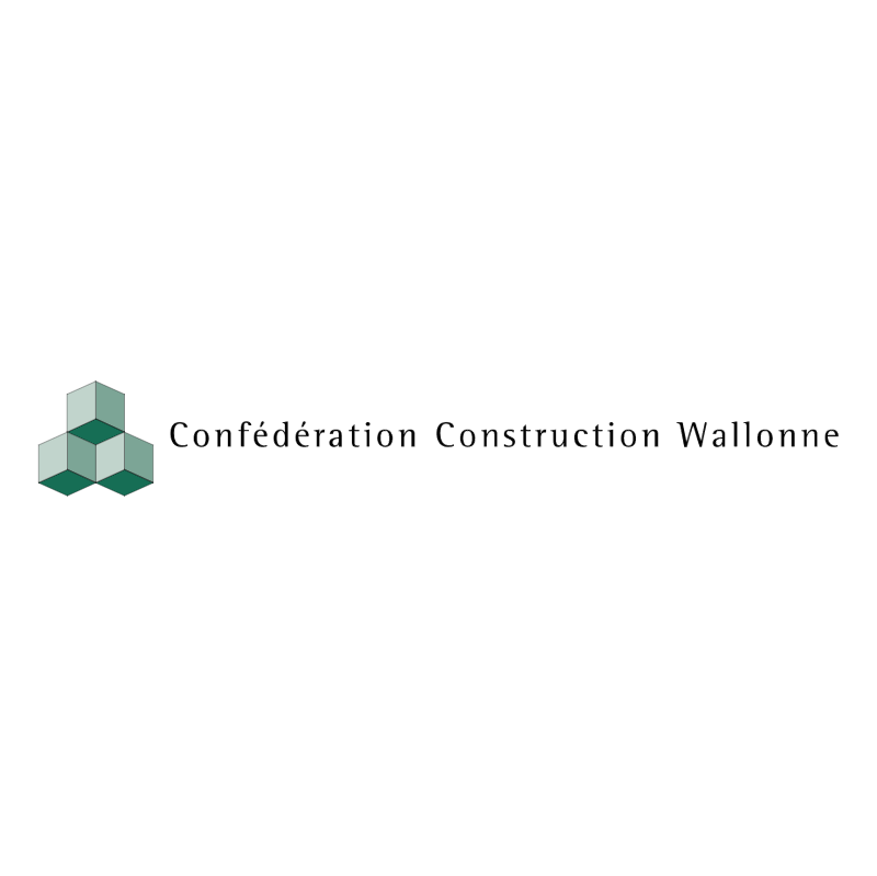 Confederation Construction Wallonne vector