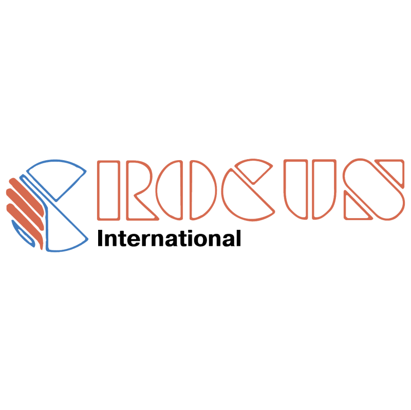 Crocus International vector logo