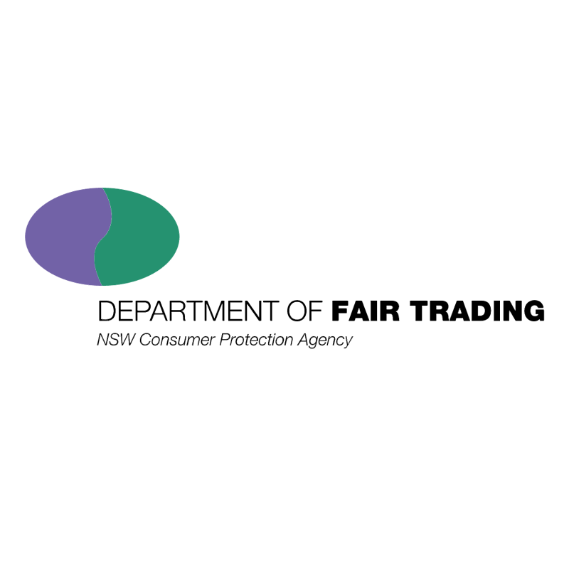 Department of Fair Trading vector