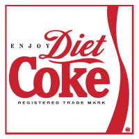 Diet Coke vector
