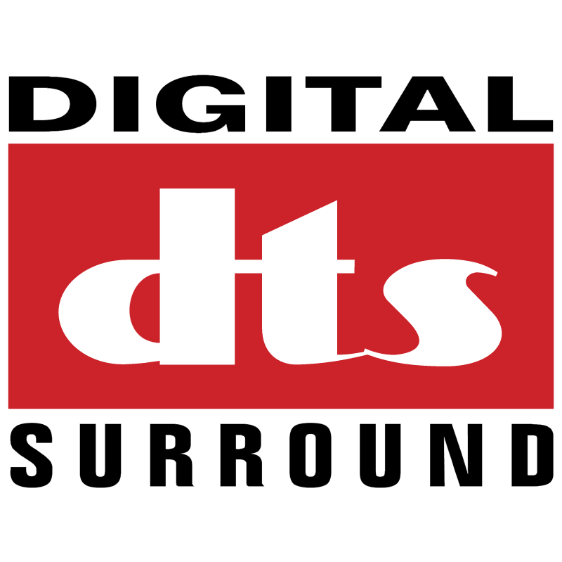 Digital DTS Surround vector