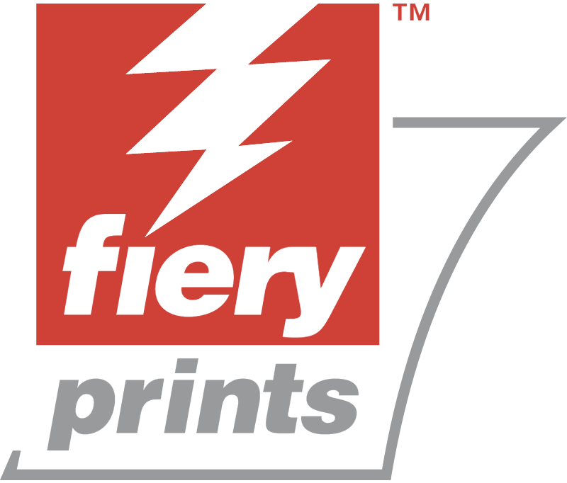 FIERY PRINTS vector