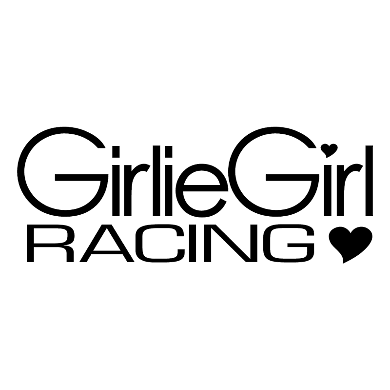 Girlie Girl Racing vector