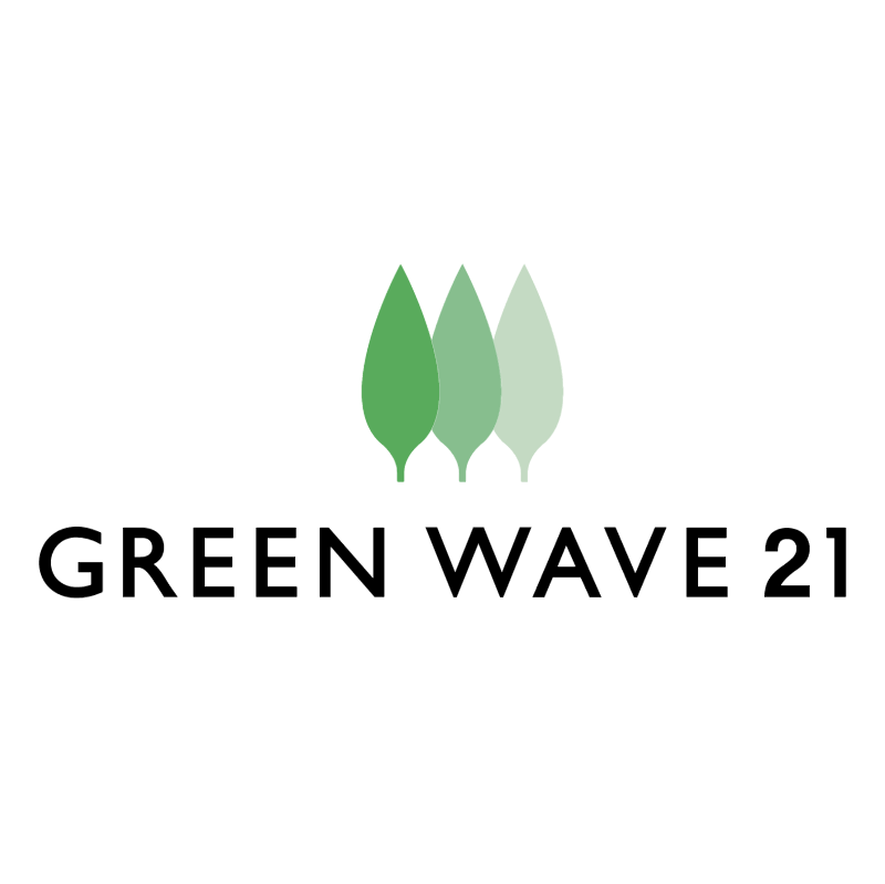 Green Wave 21 vector