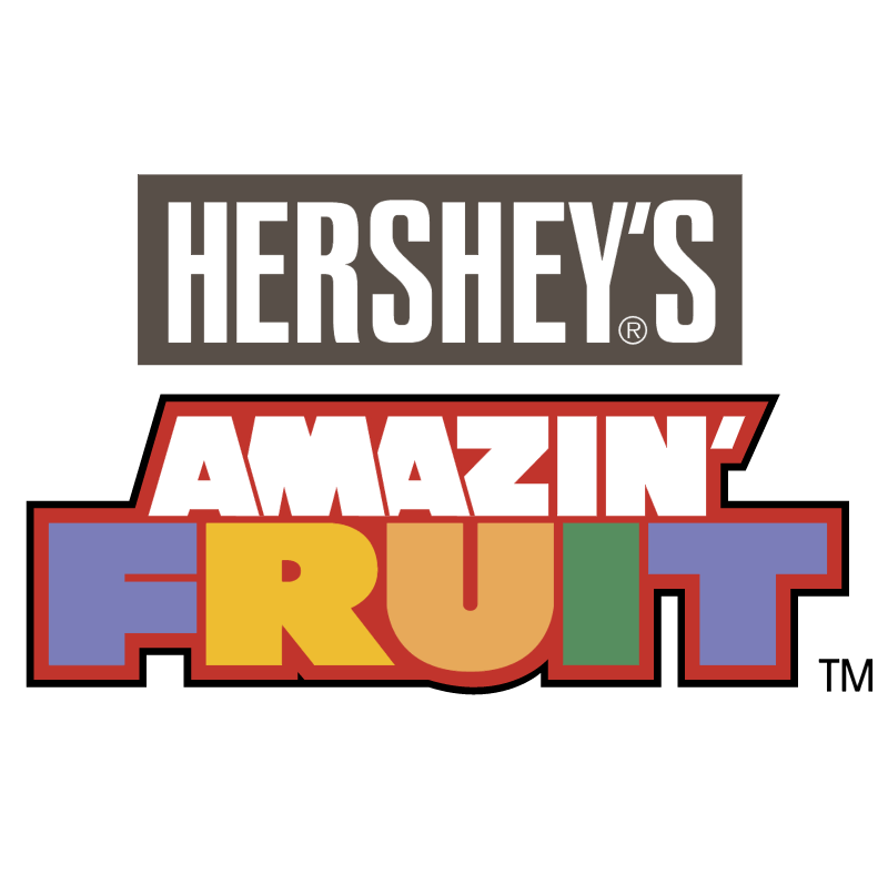 Hershey's Amazin' Fruit vector