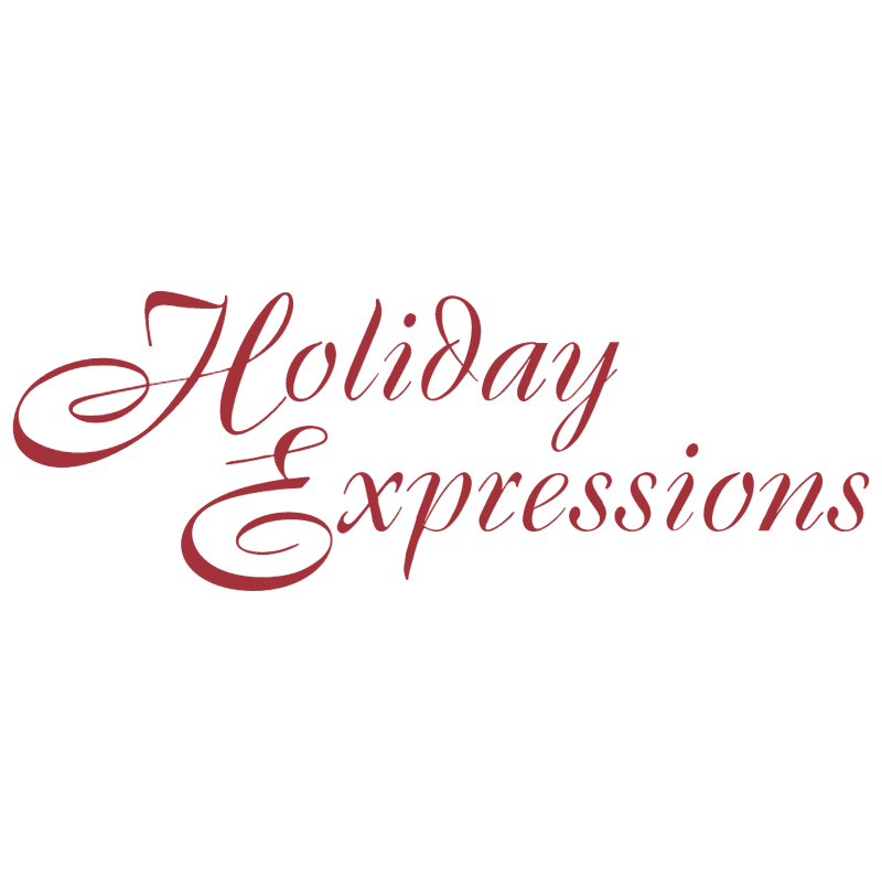 Holiday Expressions vector logo