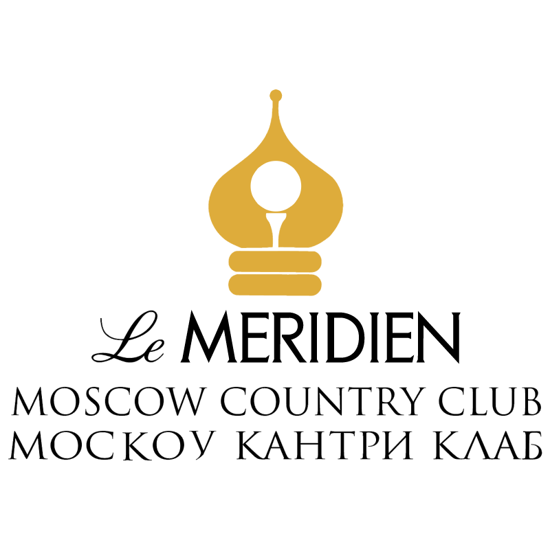 Meriden Moscow Country Club vector
