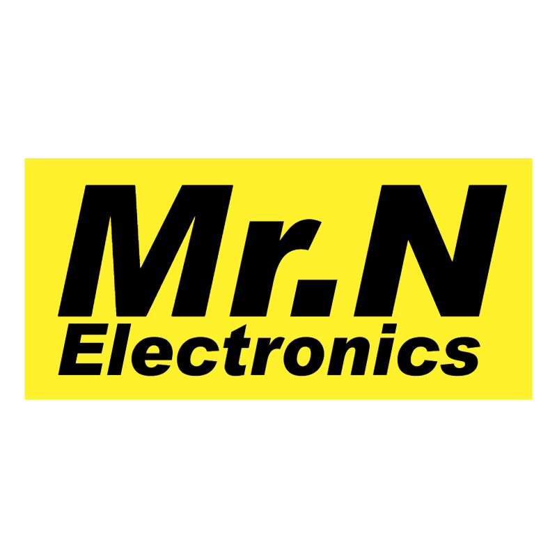 Mr N Electronics vector logo
