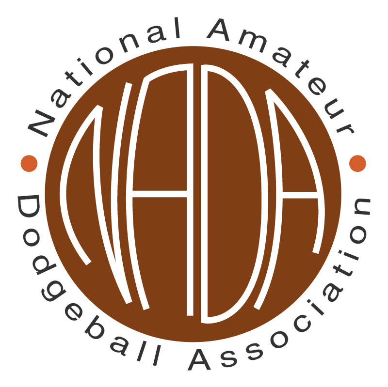 National Amateur Dodgeball Association vector logo