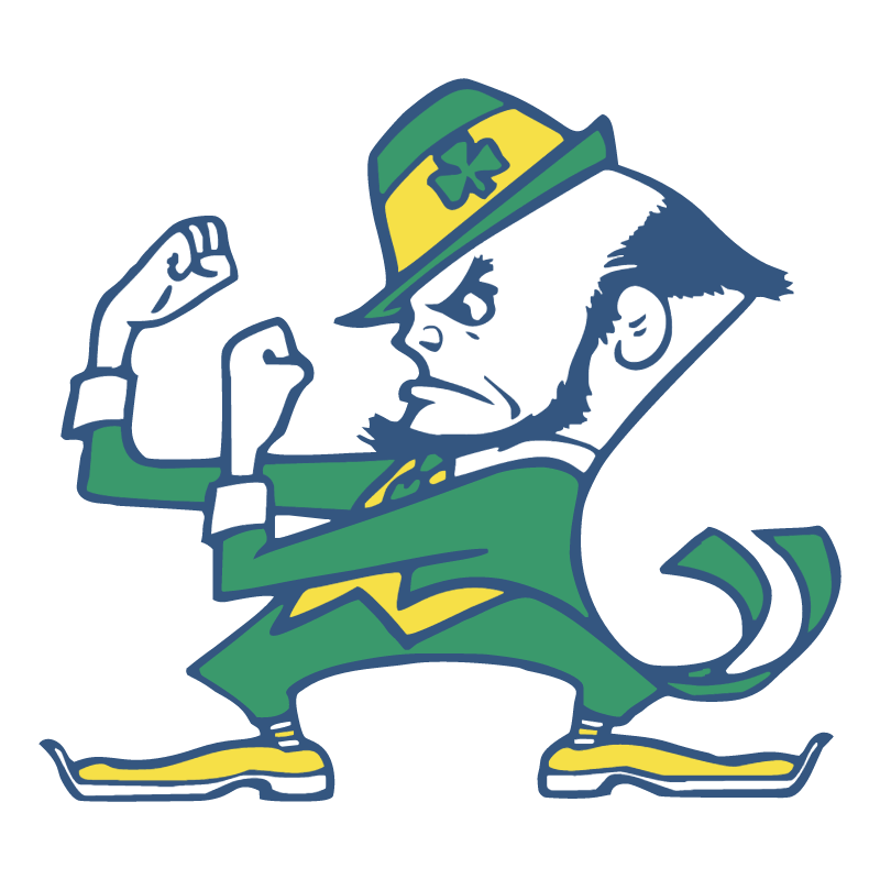 Notre Dame Fighting Irish vector