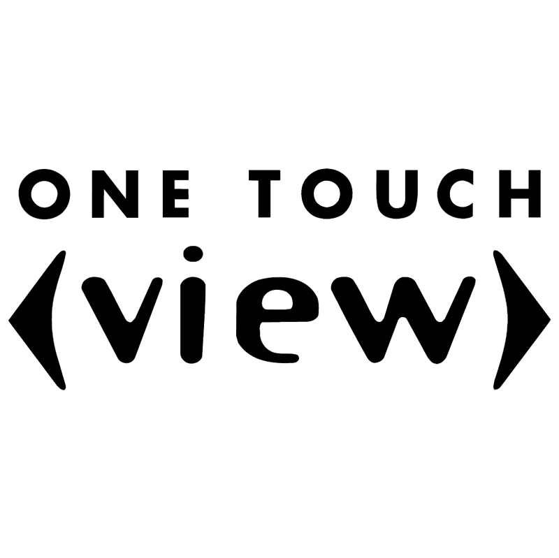 One Touch View vector