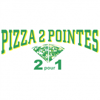 Pizza 2 Pointes vector
