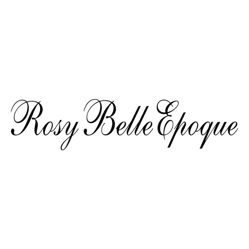 Rosy Belle Epoque vector logo