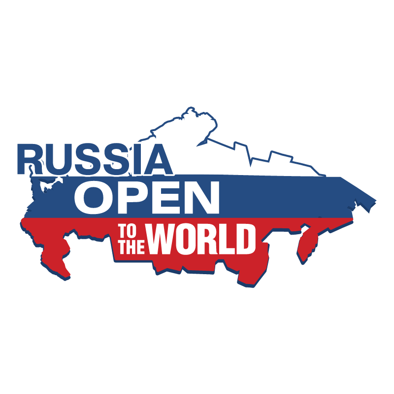Russia Open To The World vector