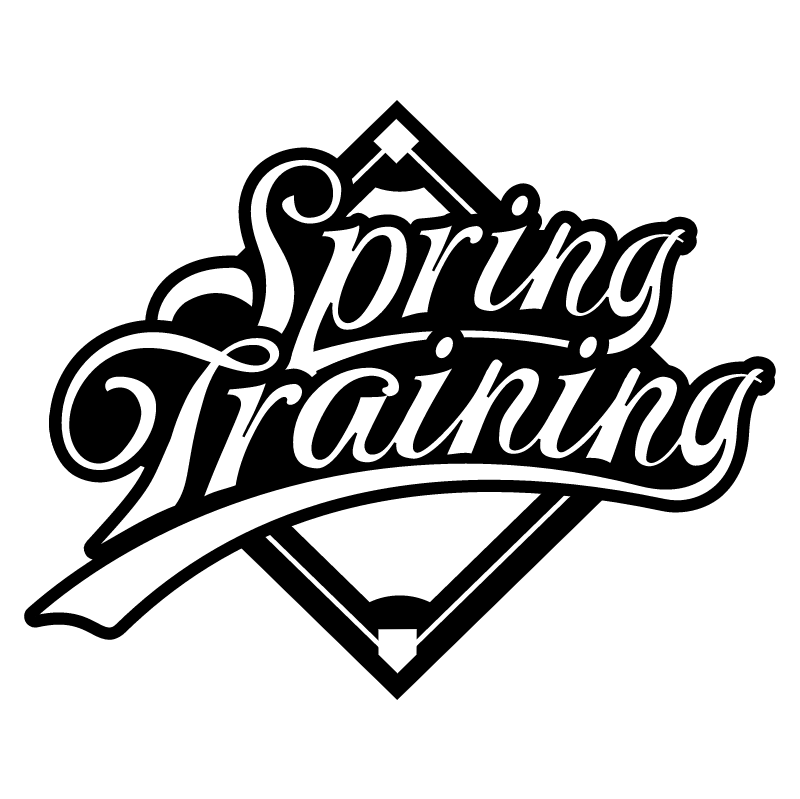 Spring Training vector