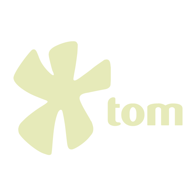 TOM COM vector logo