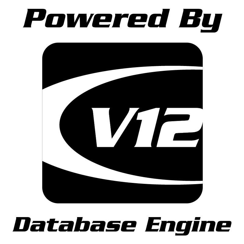 V12 Database Engine vector logo