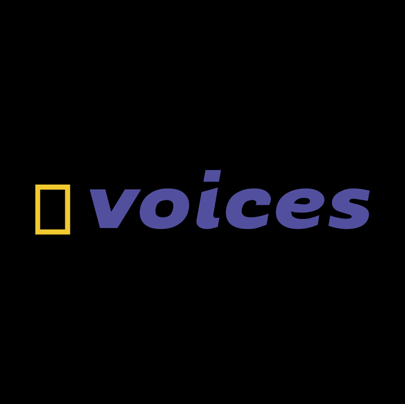 Voices vector logo