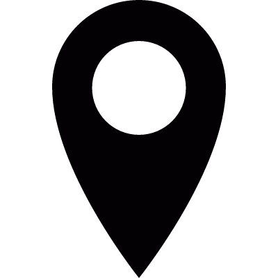 Location pointer vector logo