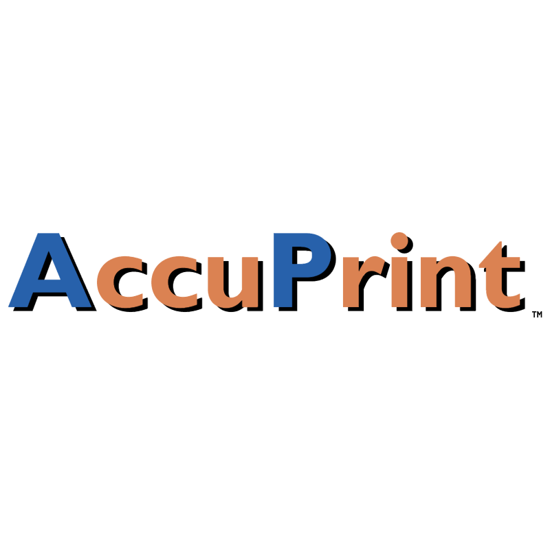 AccuPrint vector logo