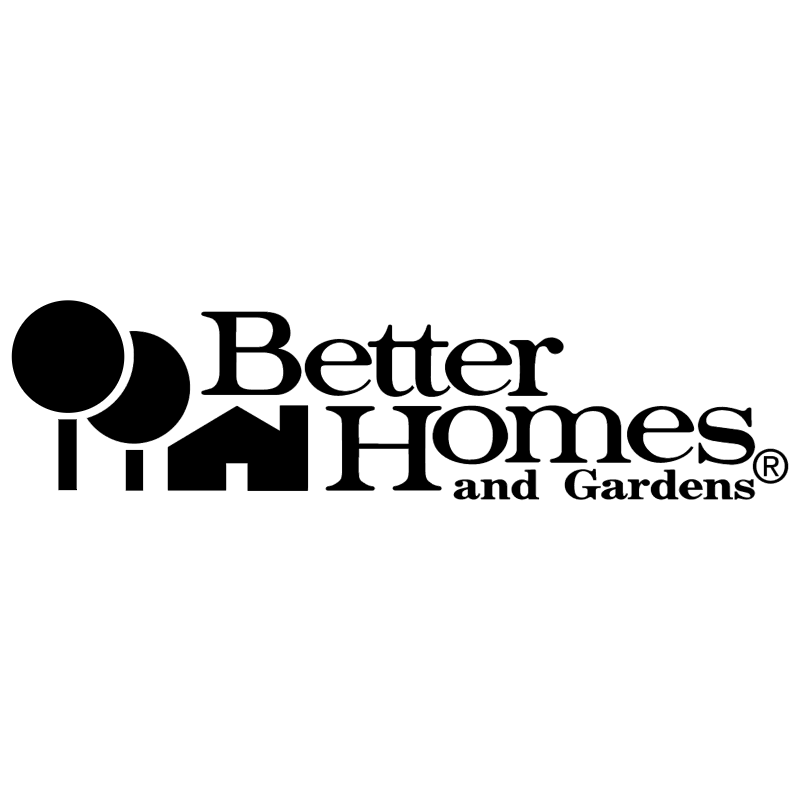 Better Homes and Gardens vector