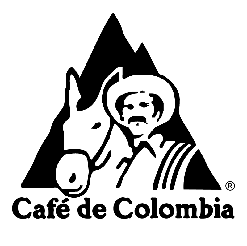 Cafe de Colombia vector